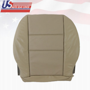 For 2008 To 2014 Mercedes Benz C250 C300 C350 Driver Bottom Seat Cover Beige