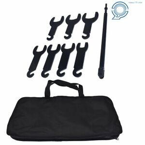 Pneumatic Fan Clutch Wrench Set Removal Tool Kit For Ford gm chrysler jeep 43300
