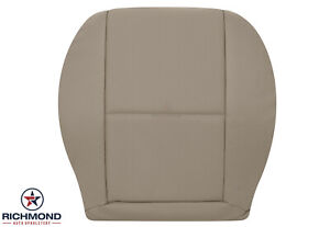 2008 2015 Mercedes Benz Glk Sport Driver Side Bottom Leather Seat Cover Tan