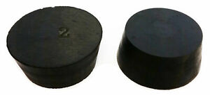 Rubber Stoppers Size 12 Solid 1 pound Pack