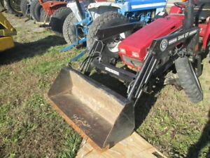 Bush Hog 1846 Loader From A International 245 Compact Tractor