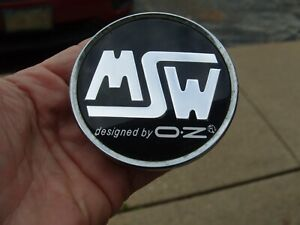 Msw By Oz Wheel Center Hub Cap Black Chrome C pcf 82 57111775f 1 Msw9