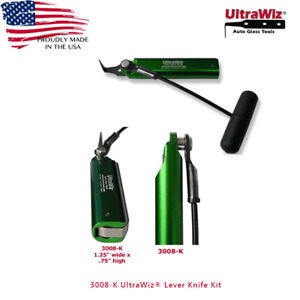 Auto Glass Windshield Removal Tool cut Out Cold Knife 3008 k Ultrawiz Lever Usa