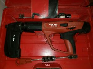 Hilti Dx 460 Mx72 Concrete Fastener Nailer Powder Actuated Gun W Case