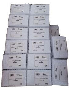 Lot Of 132 New 25 Count Scientific Microscope Slide Boxes