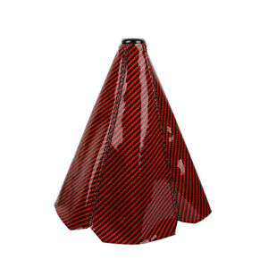 Carbon Fiber Red Shift Boot Stitch For Gear Cover Shifter Shift Knob