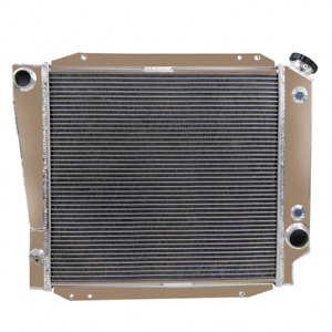 4 Row Aluminum Radiator For 1973 1977 Ford Early Bronco 5 0l V8 Cu521