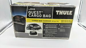 Thule Sweden Quest 846 Rooftop Cargo Storage Bag 13 Cubic Feet New Open Box