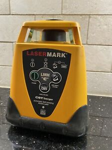 Lasermark Lmh c Automatic Self leveling Rotary Laser light Out