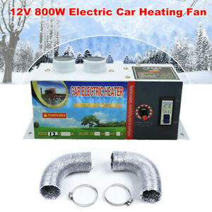 12v 800w Electric Car Heater Heating Fan Window Defogger Defroster Demister Kit