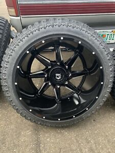 24x14 On 35s Custom Offset Wheels And Tires