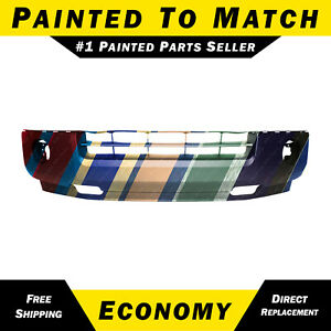 New Painted To Match Front Lower Bumper Cover For 2007 2014 Ford Expedition Xlt