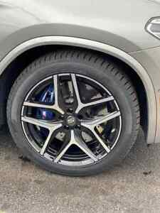 20 Inch Winter Wheels Tires Bmw X3 X4 Barely Used