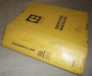Cat Caterpillar 955l Track Loader Service Shop Repair Manual Book 64j 71j 85j