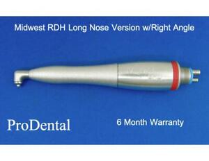 Midwest Rdh Long Nose Version W right Angle Dental Handpiece Prodental