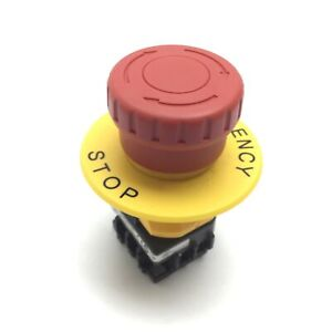 Idec Xw1e bv Emergency Stop Switch 2 pole Rating 250v 5a 22mm Mount Diameter