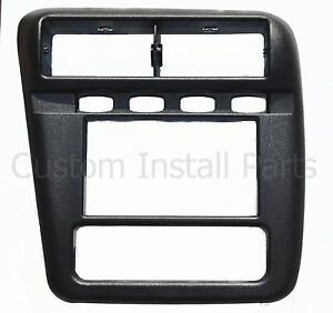 Aftermarket Radio Stereo Install Double Din Dash Mounting Kit Frame Bezel Panel