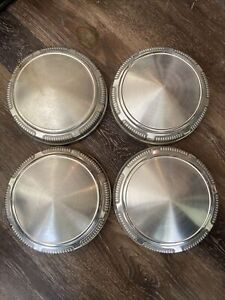 Mopar Dodge Dog Dish Hub Caps Set Of 4 Plymouth Chrysler Police
