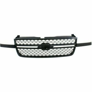 New Grille Front For Chevrolet Silverado 1500 Hd 2003 2006 Gm1200586 15276048