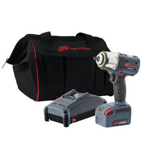 Ingersoll Rand W5133 K12 3 8 In High Torque Impact Wrench Kit 5 Ah New