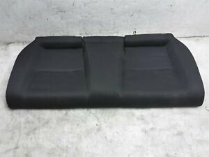 2018 2019 2020 Honda Civic Si Coupe Rear Lower Bottom Seat Portion Black Cloth