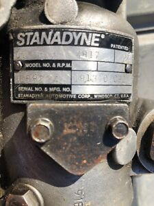 2 Stanadyne Injection Pumps