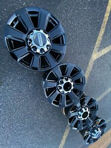 20 Ford F250 Sport Black 8x170 Oem Factory Stock Wheels Rims Platinum Superduty