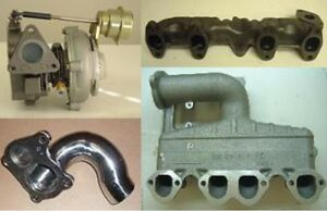 Vw 1 6 Diesel Add Turbocharger Turbo Manifolds Downpipe