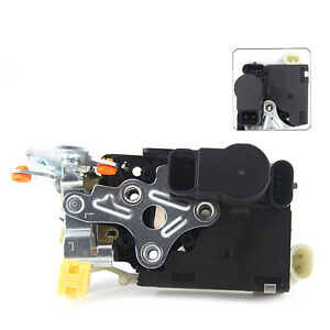 New Front Left Side Power Door Lock Actuator Integrated Latch Assembly For Gm