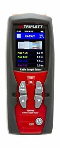 Triplett Tdr100 Cable Length Tester And Time Domain Reflectometer