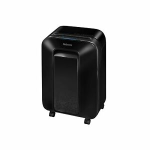Fellowes Lx20m Powershred Micro Cut 12 Sheet Paper Shredder black