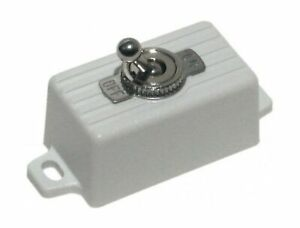 Seco larm Ss 076q sw Enforcer Spst Toggle Switch Attractive Plastic Case Wit