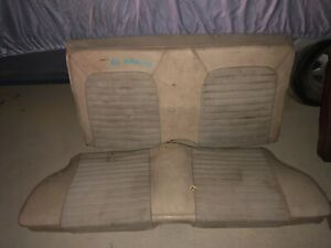 1964 1965 1966 1967 68 69 1970 Ford Mustang Rear Seat Oem Upper And Lower Coupe