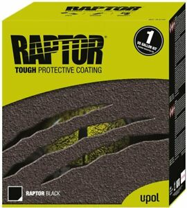 Upol Raptor Black Spray On Protective Bed Liner Paint 1 Gallon 4l Kit No Gun
