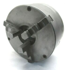 Italian Made 8 Three jaw Lathe Chuck W L0 Mount