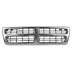 New Grille For Dodge Ram 1500 Van B1500 1999 03 Ch1200230 55075640ac Van 3 door