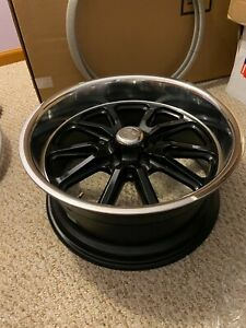 U S Mags Rambler U121 18x8 And 18x9 5 Ford Gloss Black Set Staggered Fitment