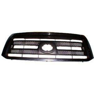 New Grille Matte Black Front For Toyota Tundra 2010 2013 To1200336 4 door