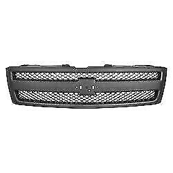 New Grille Textured Black Front For Chevrolet Silverado 1500 2007 2013 Gm1200578