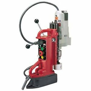 Milwaukee Electromagnetic Adjustable Drill Press 3 4in Drill Cap 12 5 Amp Motor