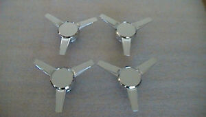 Ford Center Caps Hubcaps Mustang Wheel Spinner Knock Off 2005 2009 Set Of 4 Four