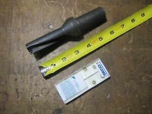 Seco Sd503 0812 244 1000r7 3xd 13 16 Indexable Drill 10 New Spgx 0602 c1 T400d