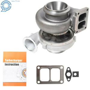 For Borg Warner Airwerks S400sx4 Scroll 1 32 A R 500 1050hp Turbo 75mm T6 Twin