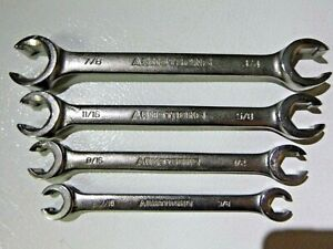 Armstrong Tools Usa 4pc Sae Flare Nut Line Wrench Set 3 8 7 8