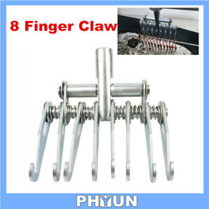 8 Finger Claw For Car Body Slide Hammer Attachment Dent Repair Puller Hand Tools