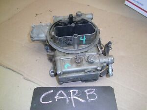 1958 1963 1964 Ford Fe 332 352 390 406 361 Holley 4bbl Barrel Carburetor Oem Cor