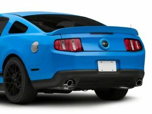 Mmd Trunk Emblem Surround Unpainted Styling Fits All Ford Mustang 2010 2012