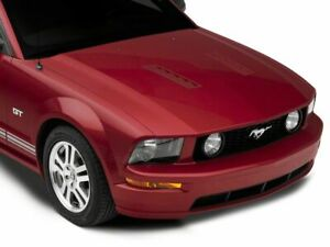 Mmd Hood Vent Louvers Unpainted Fits Ford Mustang 2005 2012 Gt V6