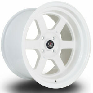 One 16x8 Rota Grid V 5x114 3 20 White Wheels Rims