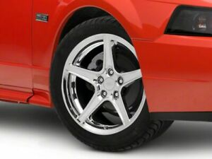 American Muscle Saleen Style Wheel In Chrome 17x9 Fits Ford Mustang 1999 2004